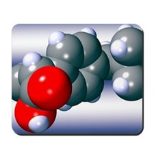Ibuprofen molecule Mousepad