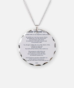 Poker Psalm Necklace
