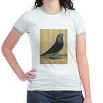 Blue Velvet West Jr. Ringer T-Shirt