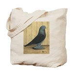 Blue Velvet West Tote Bag