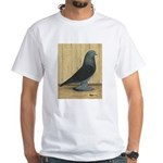 Blue Velvet West White T-Shirt