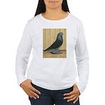 Blue Velvet West Women's Long Sleeve T-Shirt