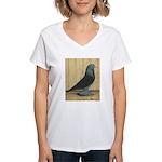 Blue Velvet West Women's V-Neck T-Shirt