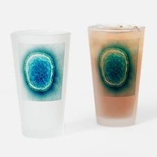 Human parainfluenza virus, TEM Drinking Glass