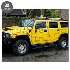 Hummer 4x4 vehicle Puzzle