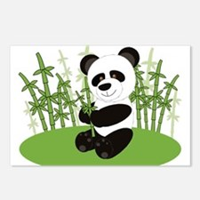 Panda in Bamboo-3 Postcards (Package of 8)