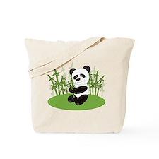 Panda in Bamboo-3 Tote Bag