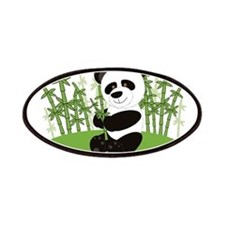 Panda in Bamboo-3 Patches