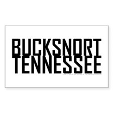 Bucksnort, TN - Rectangle Decal