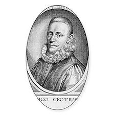 Hugo Grotius, Dutch jurist Decal