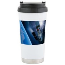 Hubble Space Telescope in orbit Travel Mug