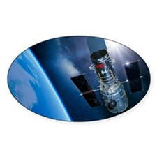 Hubble Space Telescope in orbit, ar Decal