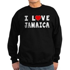 I Love Jamaica Sweatshirt
