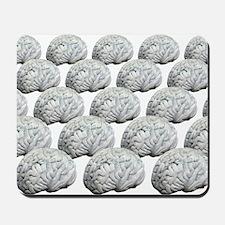 Human brains, artwork Mousepad