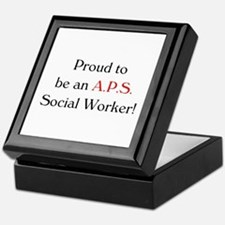 Proud APS SW Keepsake Box