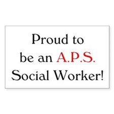 Proud APS SW Rectangle Decal