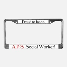 Proud APS SW License Plate Frame