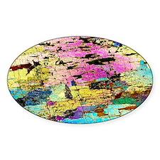 Hornblendite rock, light micrograph Decal