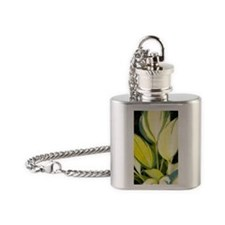 Hosta 'Remember Me' Flask Necklace