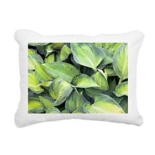 Hosta 'June' Rectangular Canvas Pillow