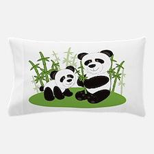Panda Bamboo Family Pillow Case