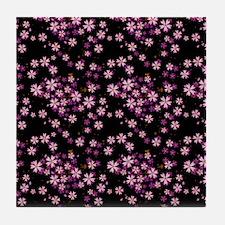 ipad_cherry Tile Coaster