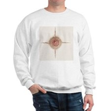Hexastylus radiolarian, artwork Sweatshirt