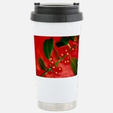Holly berries Stainless Steel Travel Mug