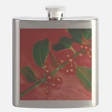 Holly berries Flask