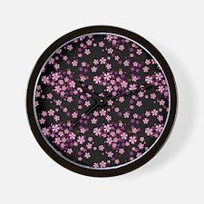 flip_flops_cherry Wall Clock