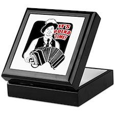 It's Polka Time Keepsake Box
