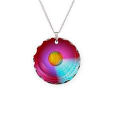 Higgs Boson particle, artwor Necklace