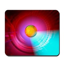 Higgs Boson particle, artwork Mousepad
