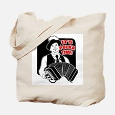 It's Polka Time Tote Bag