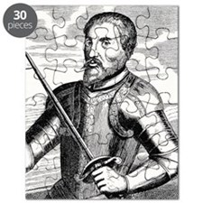 Hernando de Soto, Spanish explorer Puzzle