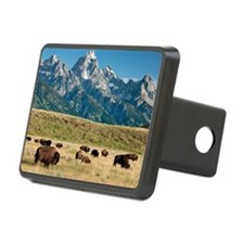 Herd of American Bison Hitch Cover