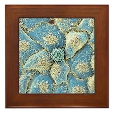 HeLa cells, SEM Framed Tile