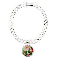 Hellebore flowers Bracelet