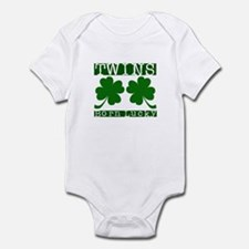 TWINS Born Lucky Infant Bodysuit