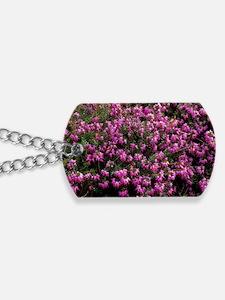 Heather 'Heathwood' flowers Dog Tags
