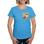Blue Grizzle West Women's Dark T-Shirt