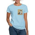 Blue Grizzle West Women's Light T-Shirt