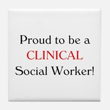 Proud Clinical SW Tile Coaster