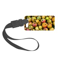 Harvested organic apples Luggage Tag