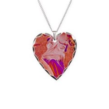 Heart valves and strings, SEM Necklace