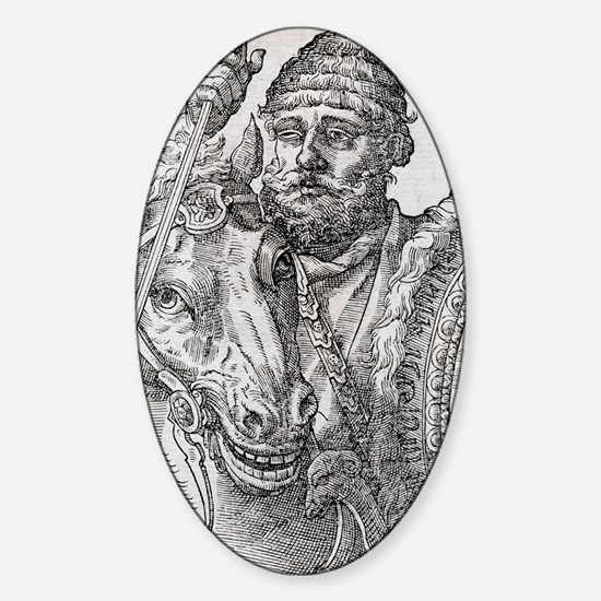 Hannibal, Carthaginian general Sticker (Oval)