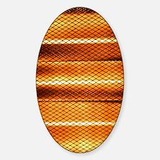 Halogen heater Sticker (Oval)