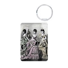 Embassy Ball, Card Aluminum Photo Keychain