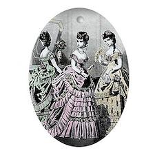 Embassy Ball, Card Oval Ornament