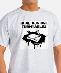 REAL DJS IN WHT T-Shirt